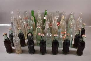 LARGE COLLECTION OF VINTAGE SODA BOTTLES