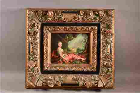 REPRODUCTION FRENCH OIL PAINTING
