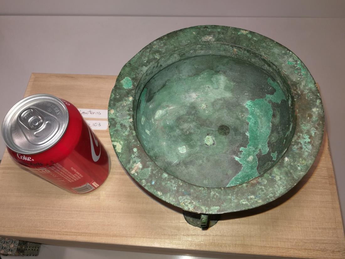 Chinese Archaic Bronze Food Vessel Li Ding Shang/Xizhou - 3