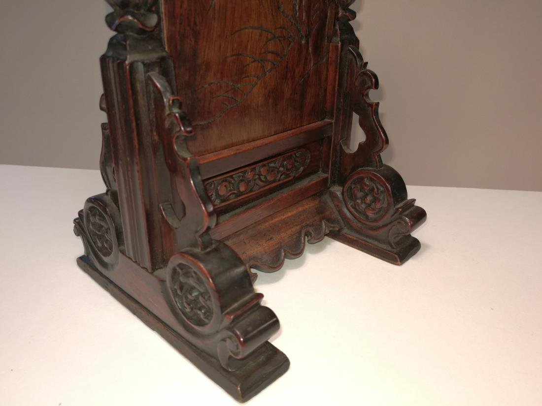 Rare 16th-17th Century Chinese Huanghuali Screen - 5