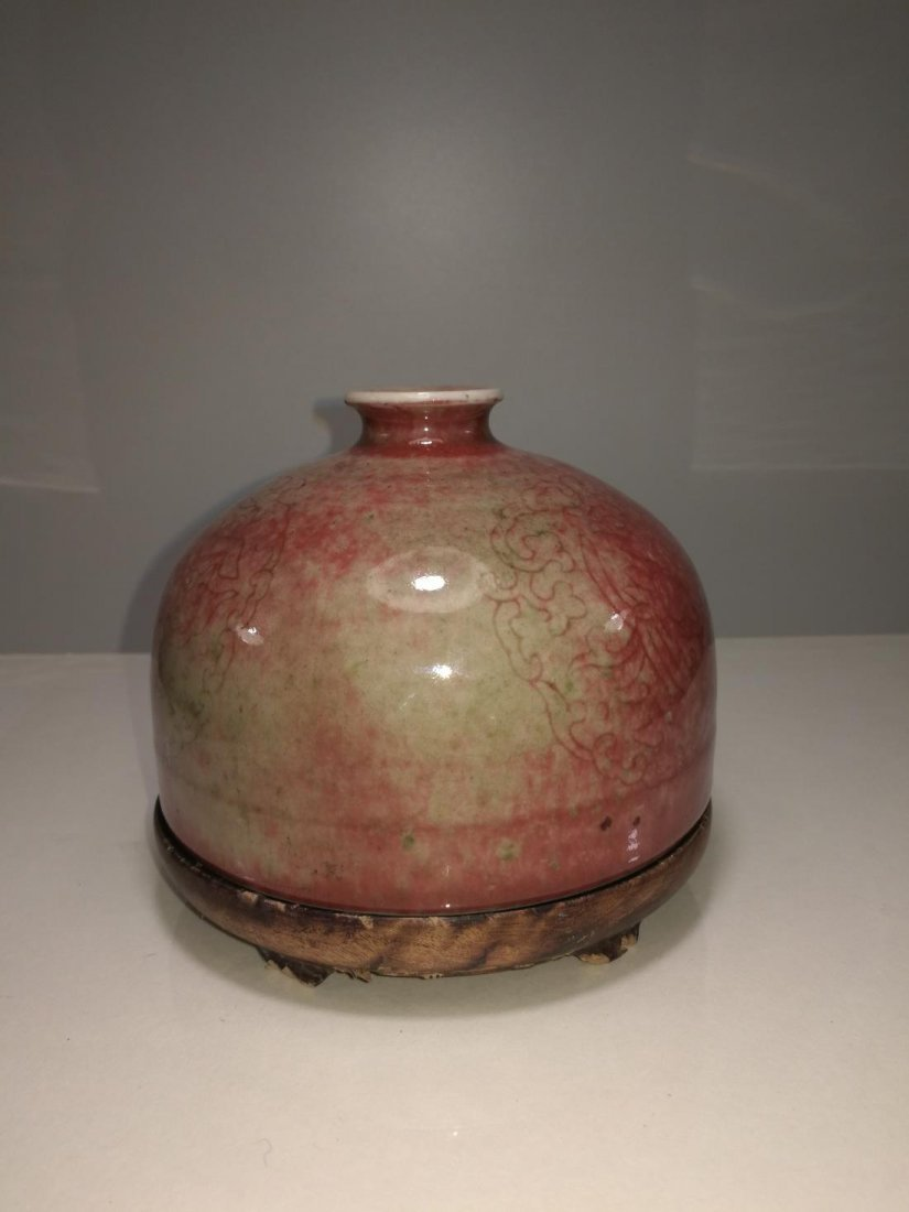 Chinese Porcelain Bottle Da Qing Kangxi Nian Zhi Mark - 2