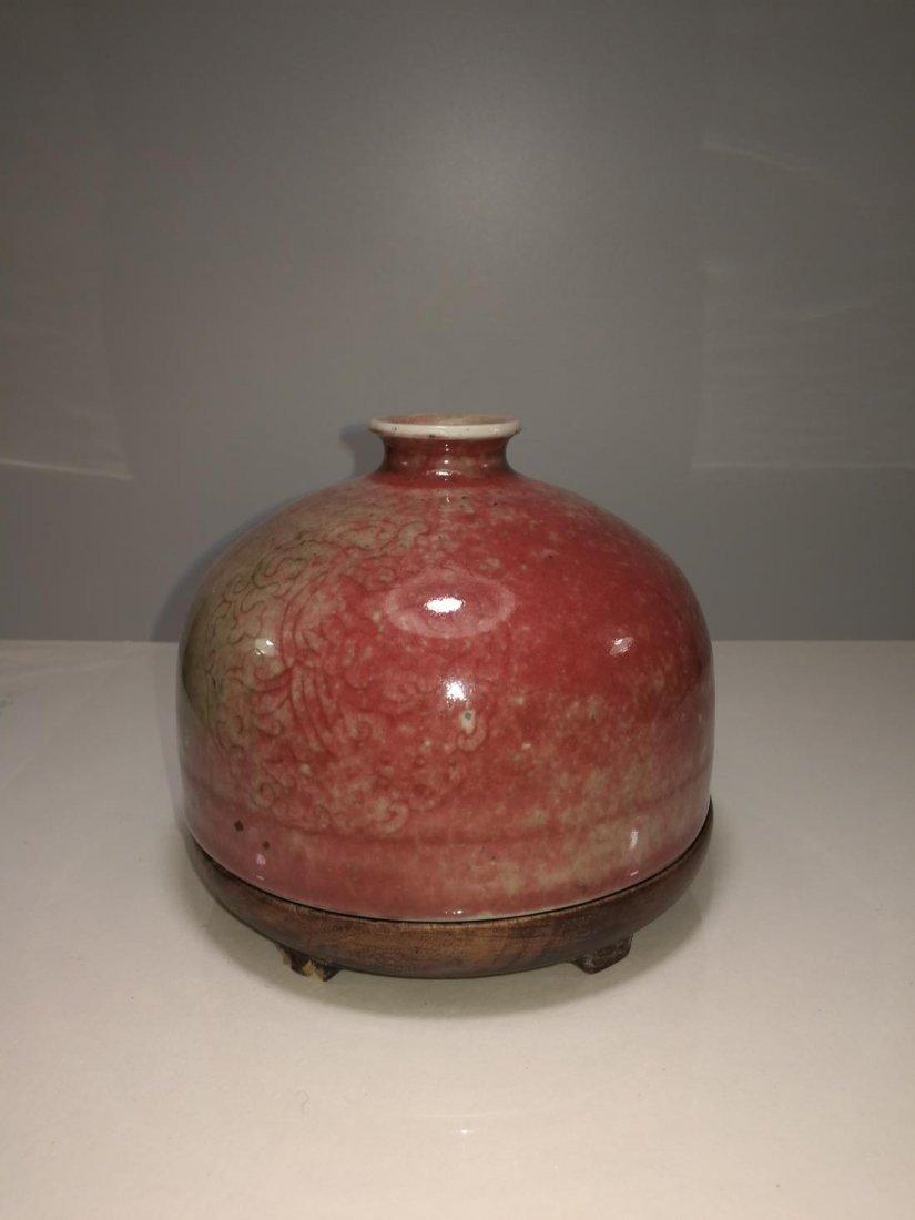 Chinese Porcelain Bottle Da Qing Kangxi Nian Zhi Mark - 3