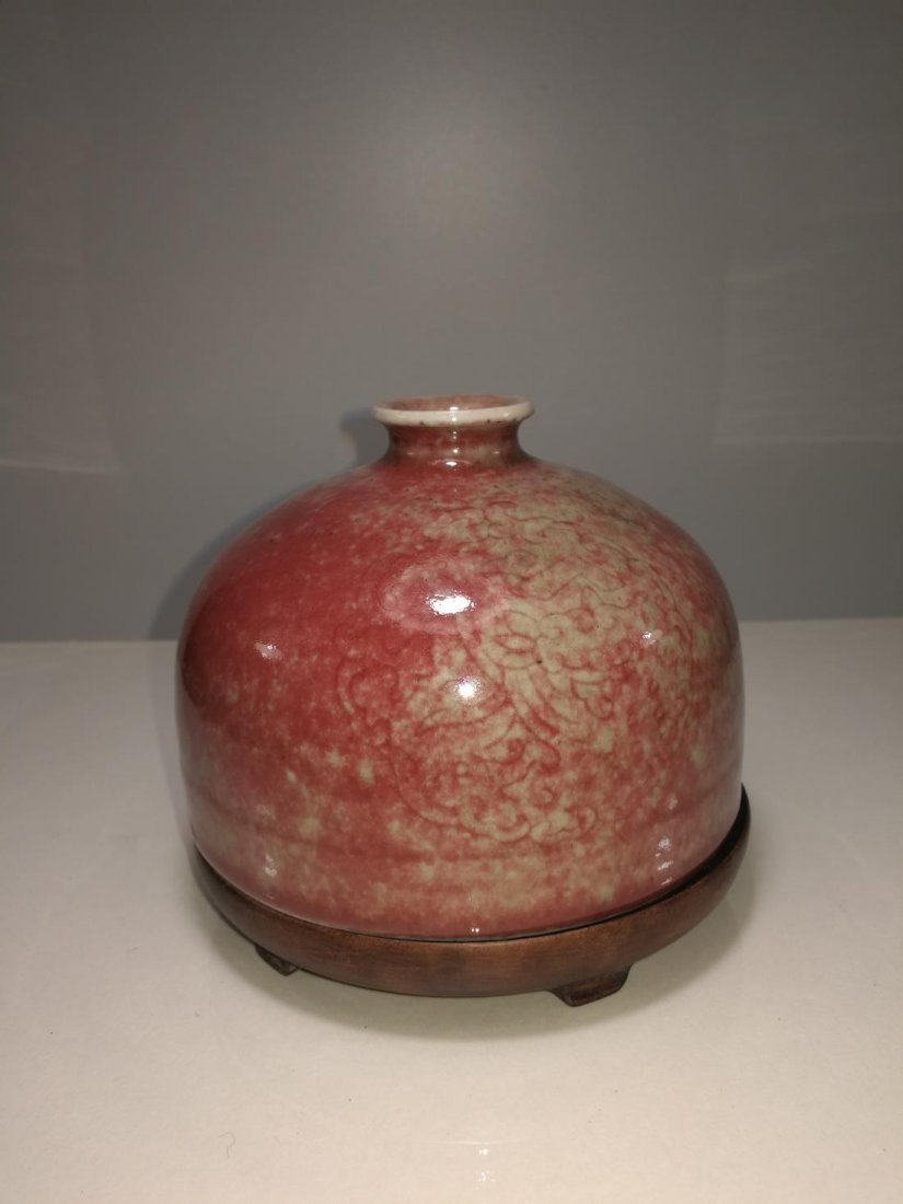 Chinese Porcelain Bottle Da Qing Kangxi Nian Zhi Mark - 4