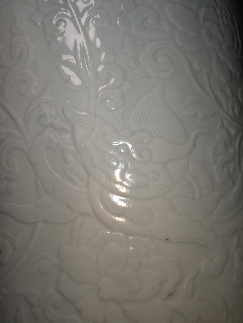 Chinese Porcelain Brushpot Da Qing Kangxi Nian Zhi Mark - 10