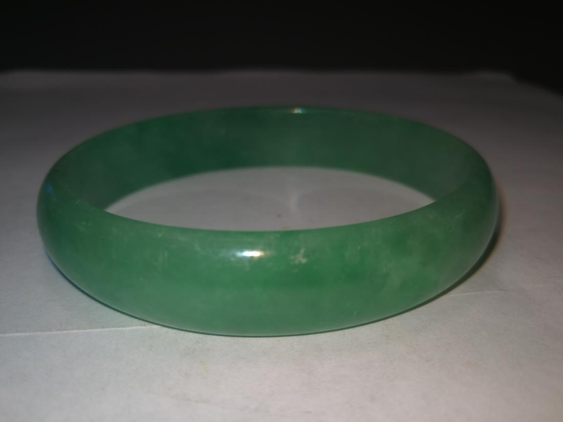 Chinese Emerald Bracelet - 4