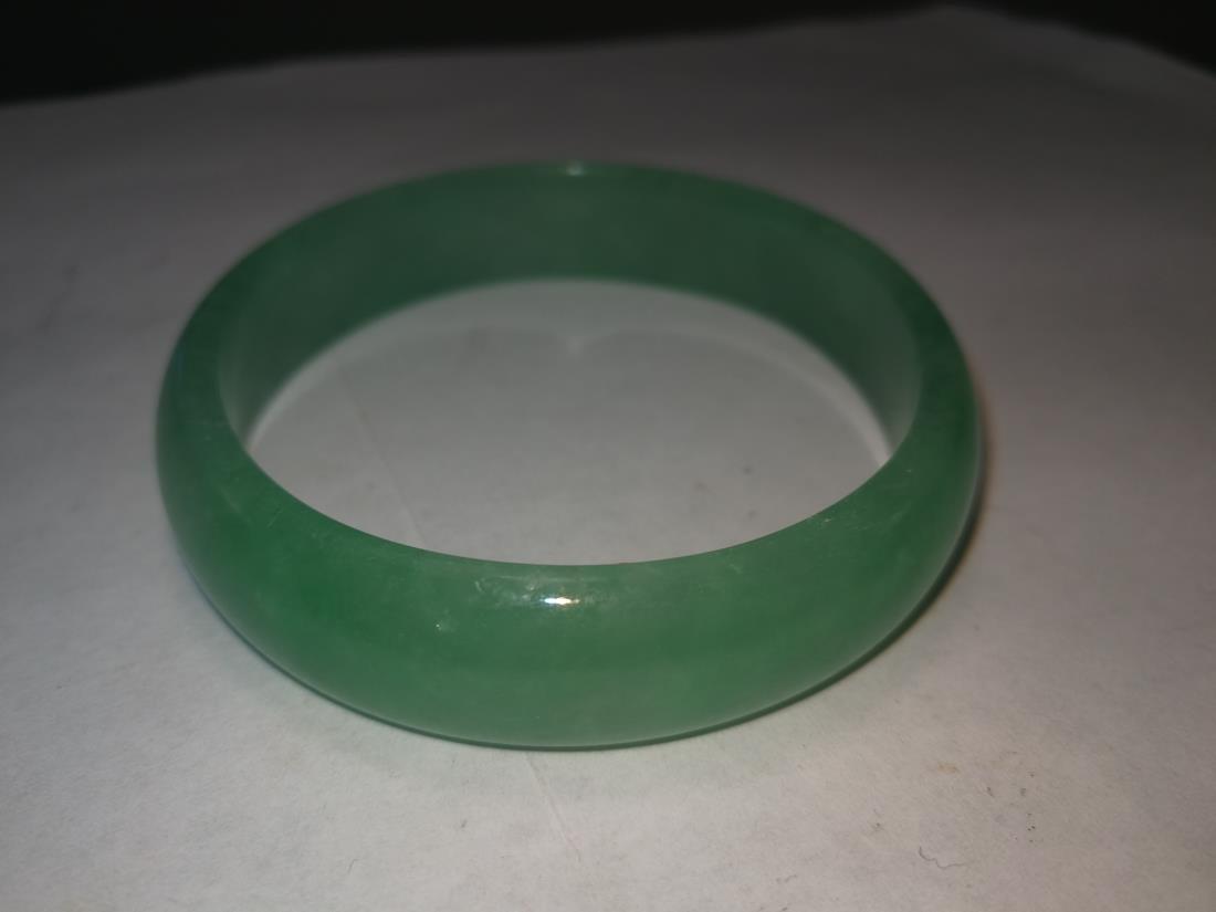 Chinese Emerald Bracelet - 6
