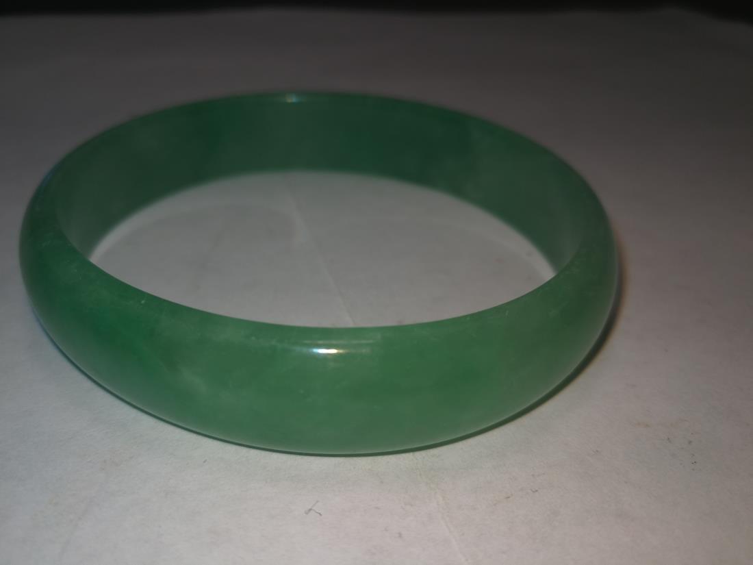 Chinese Emerald Bracelet - 7