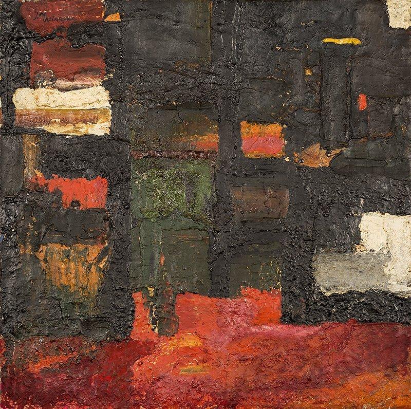 Jadwiga Maziarska, Kompozycja stearynowa, 1950s
