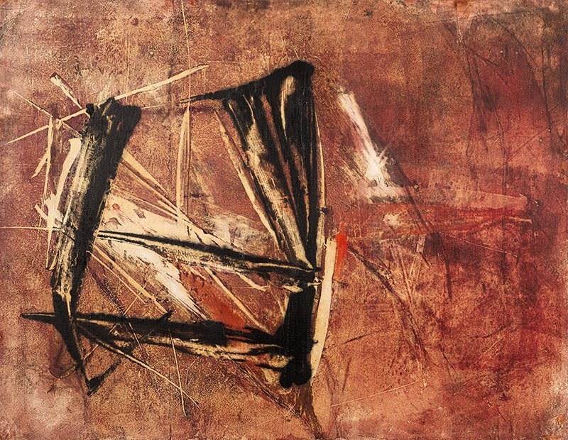 Teresa Rudowicz, Composition, 1958