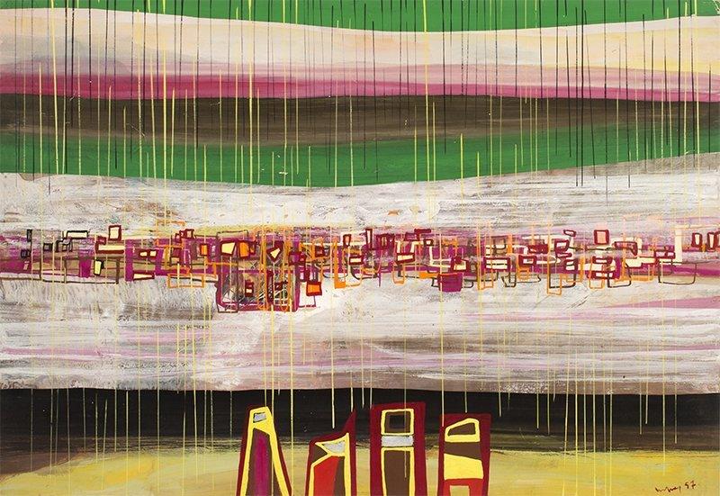 Marian Bogusz, Composition, 1957