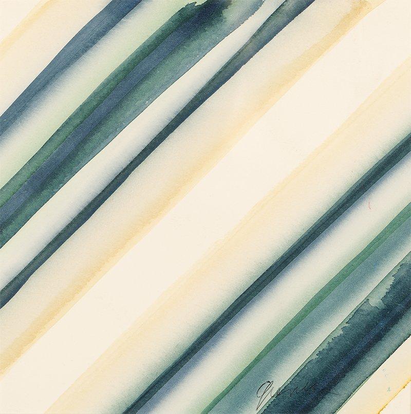Stefan Gierowski, Untitled, 2000s