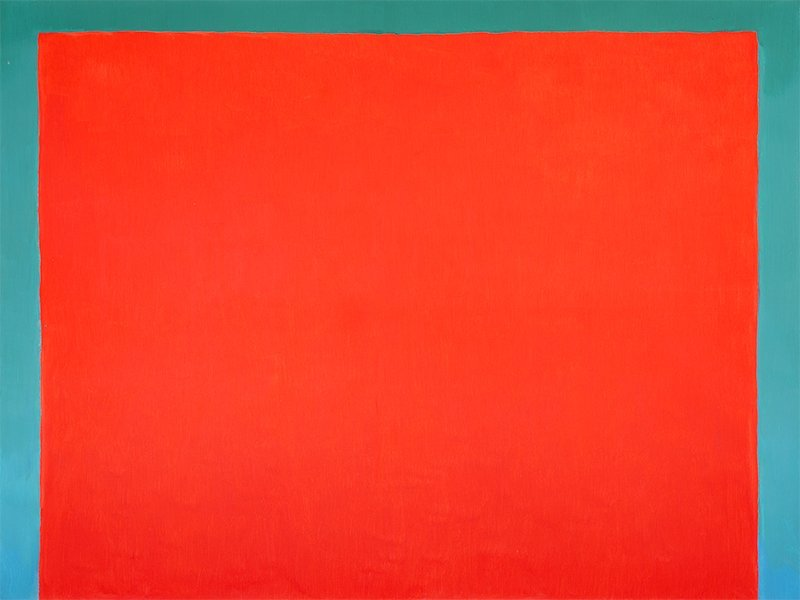 Ernest Zawada, Untitled (Red), 2014-2015