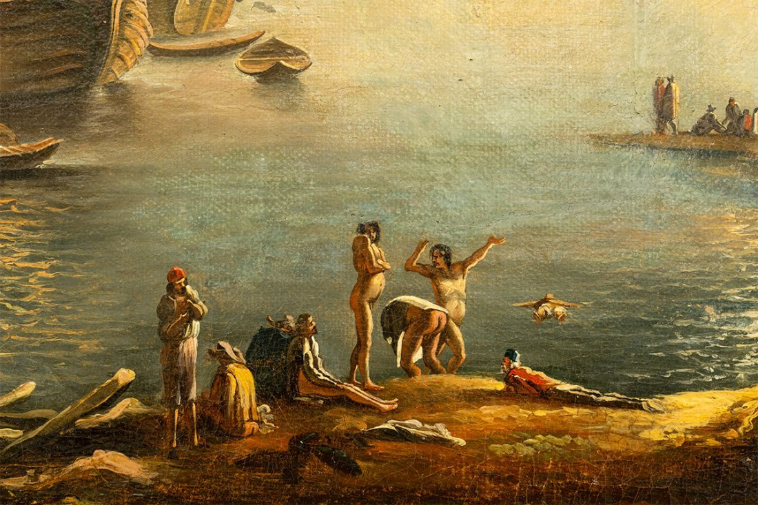 (Italian School), Mediterranean Landscape, 18th century - 4