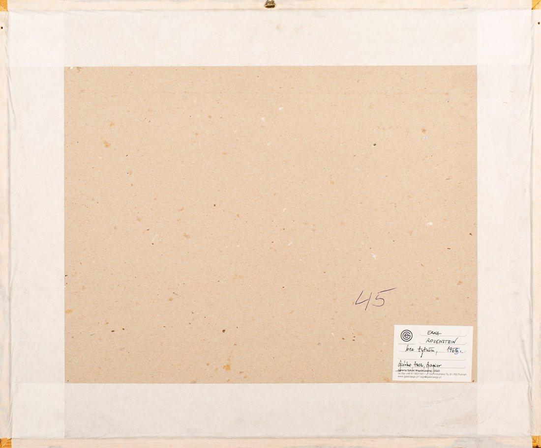 Erna Rosenstein, untitled, 1965 - 5