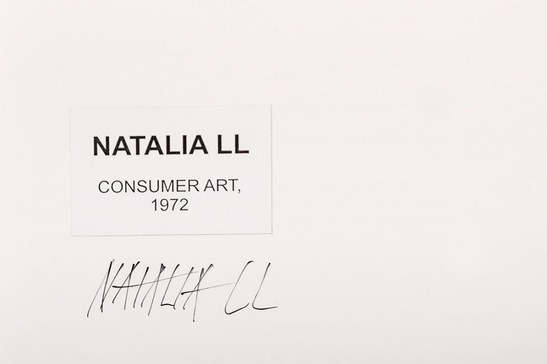 Natalia LL, Consumer Art, 1972 - 4