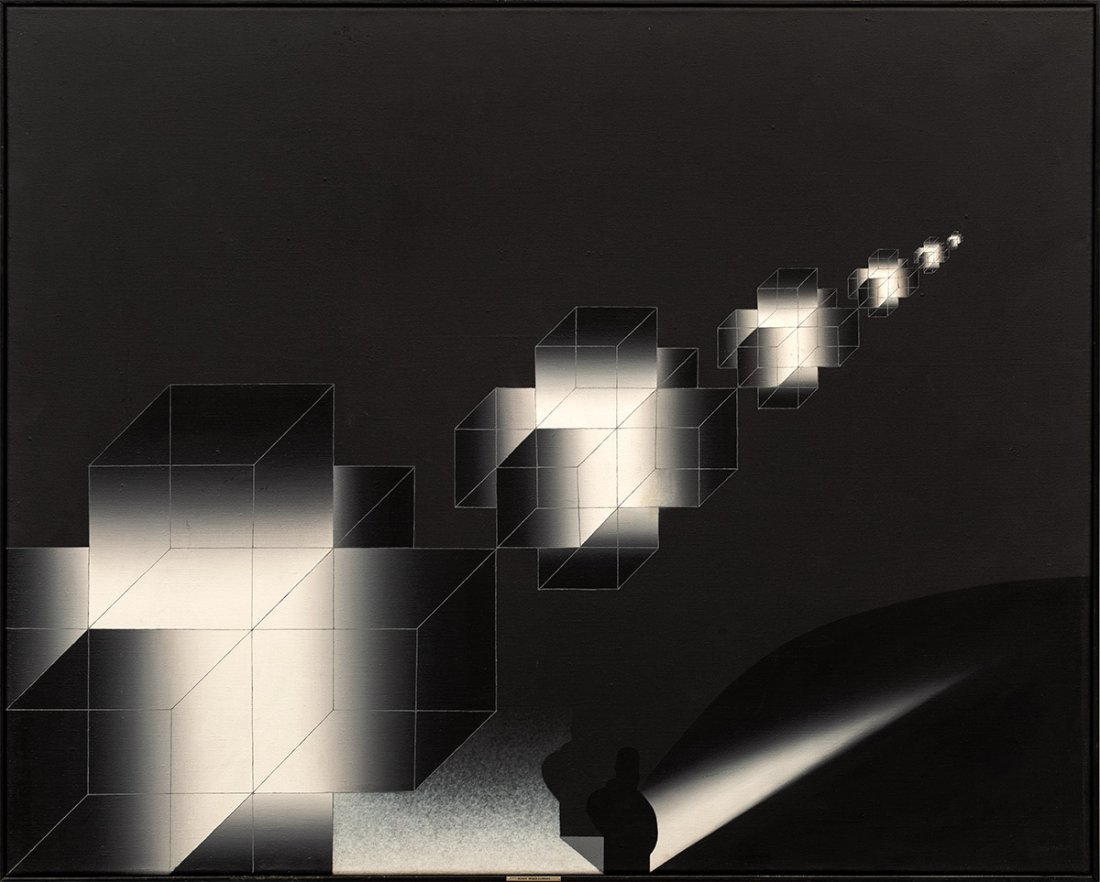 Adam Wsiołkowski, The Invasion III (B), 1992