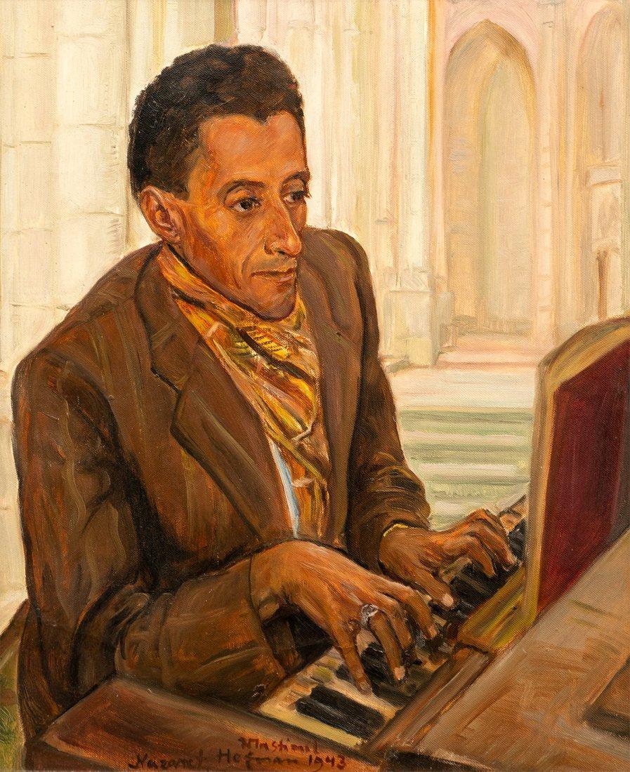 Wlastimil Hofman, The Organist, 1943
