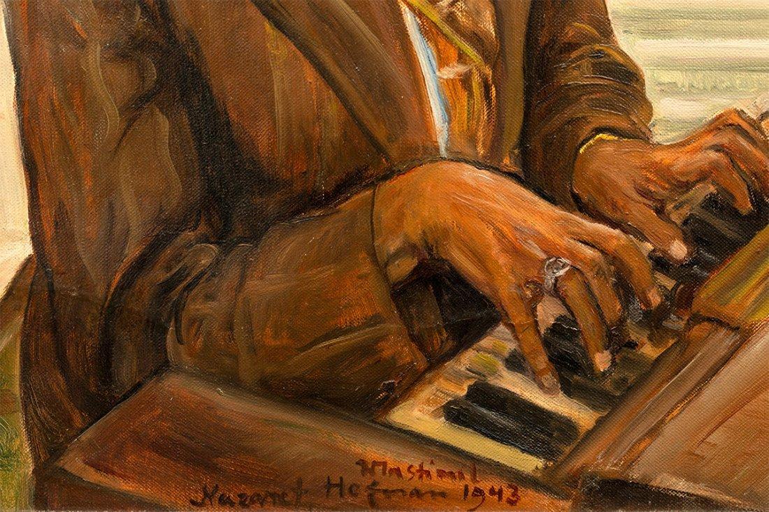 Wlastimil Hofman, The Organist, 1943 - 4