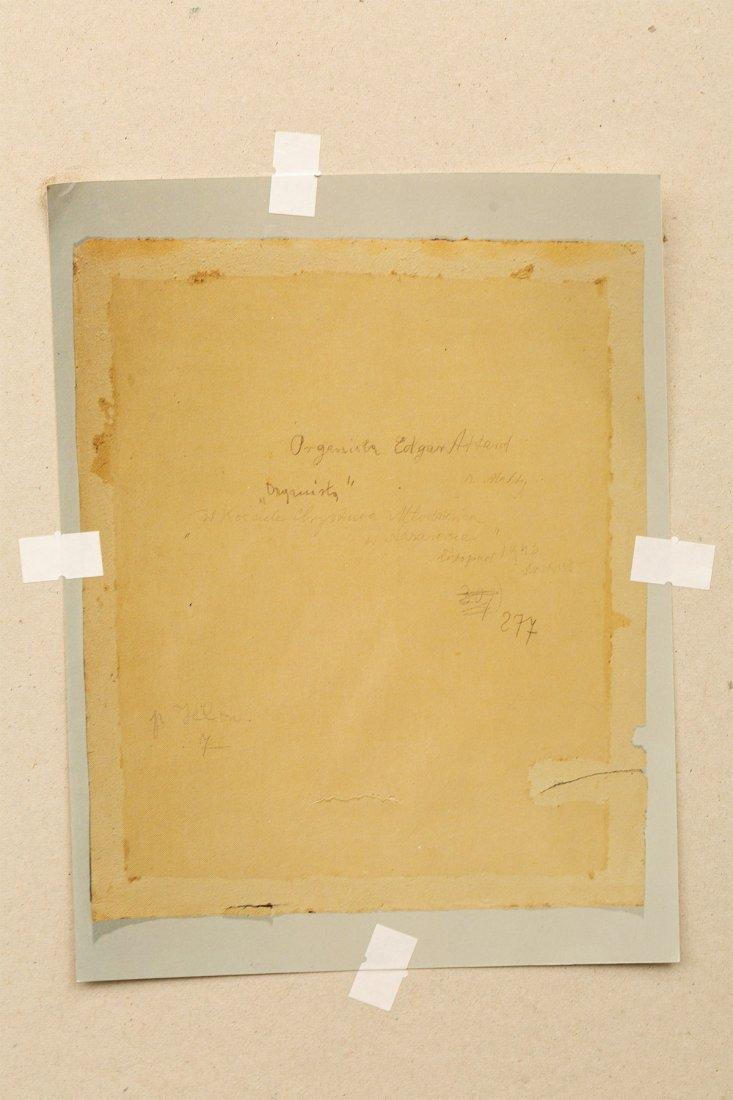 Wlastimil Hofman, The Organist, 1943 - 7