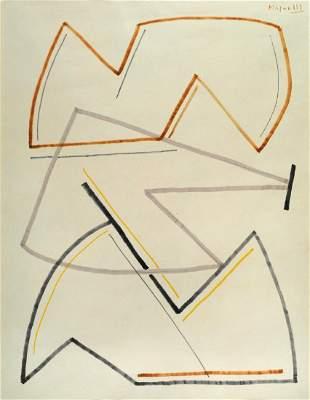 Alberto Magnelli (1888-1971),Senza titolo 1958