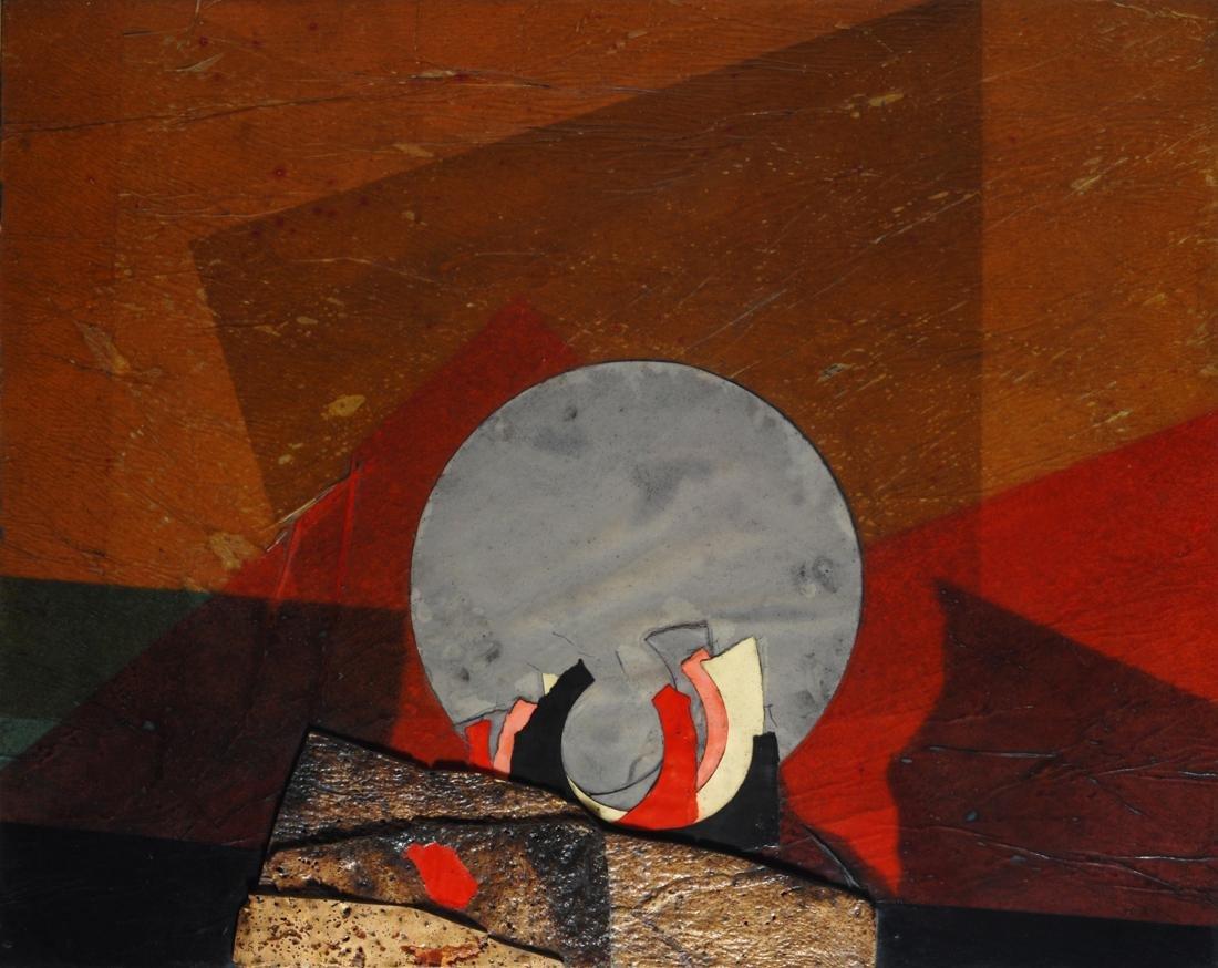 Roberto Crippa (1921-1972)  Blu sun, 1971