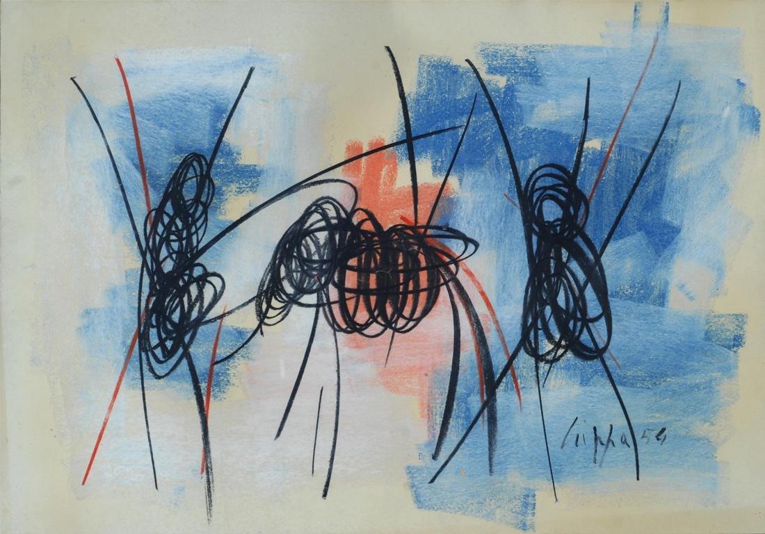 Roberto Crippa (1921-1972)  Composizione , 1954