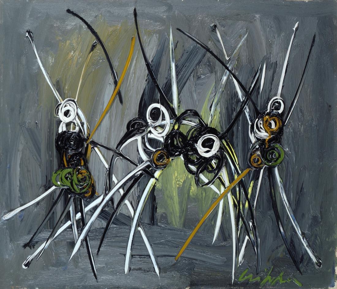 Roberto Crippa (1921-1972)  Composizione, 1954