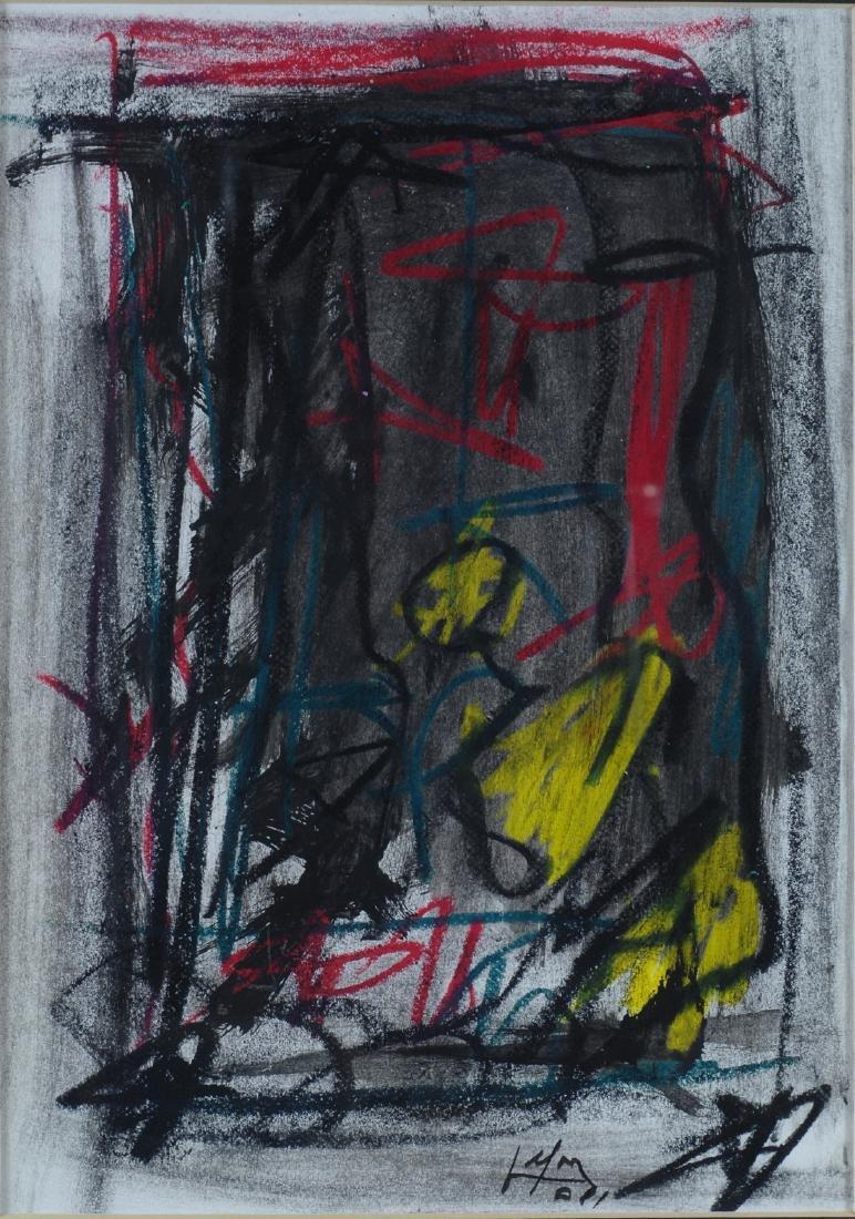 Emilio Vedova (1919-2006)  Senza titolo C 10, 1981