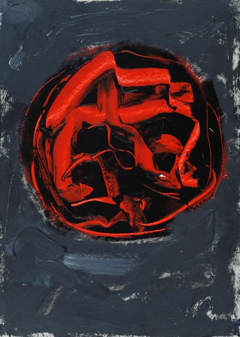 Emilio Vedova (1919-2006)  Oltre, 1988