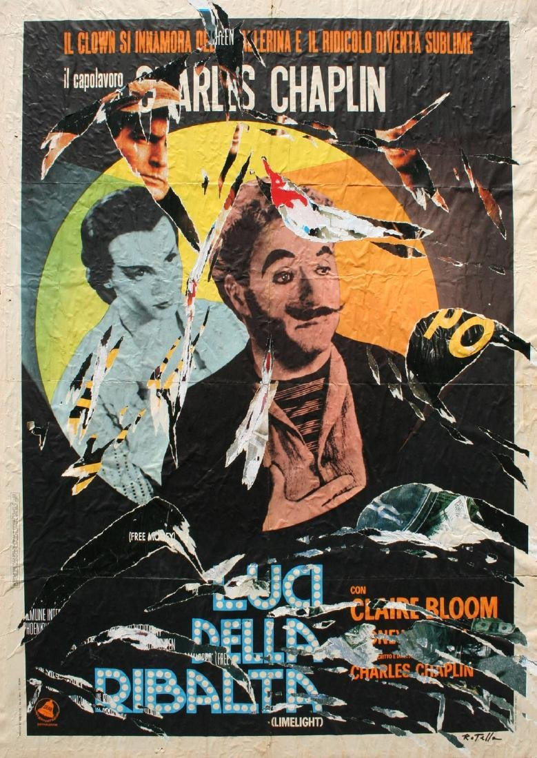 Mimmo Rotella (1918-2006) Limelight, 2002