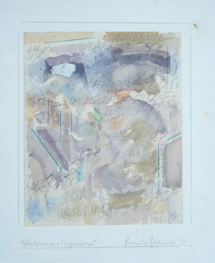 Riccardo Guarneri (1933) Lontananza e trasparenza 1991