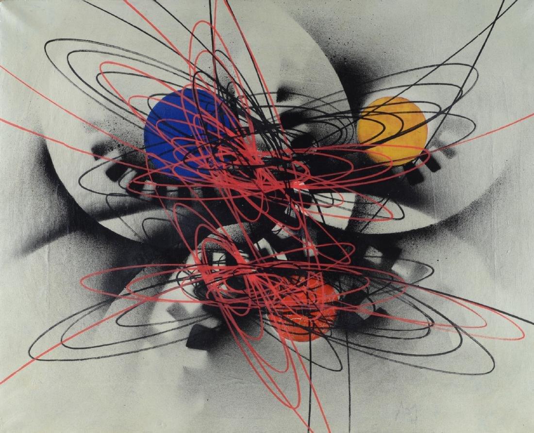 Roberto Crippa (1921-1972) Spirali 1951