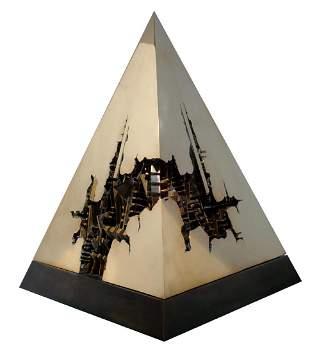 Arnaldo Pomodoro (1926) Piramide 1987