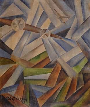 Albert Gleizes (1881-1953) Aviens 1923