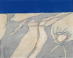 Achille Perilli (1927) L'albero del desiderio 1966