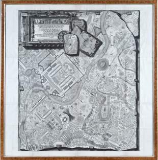 Giovanni Battista Piranesi (1720-1778) Il Campo Marzio