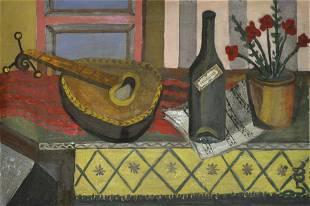 Enrico Baj (1924-2003) Natura morta (1946)