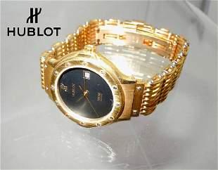 Ladies Classic Hublot MDM Geneve Senyora 18K Gold