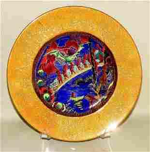 Wedgwood Fairyland Lustre Plate Imps On A Bridge Disney
