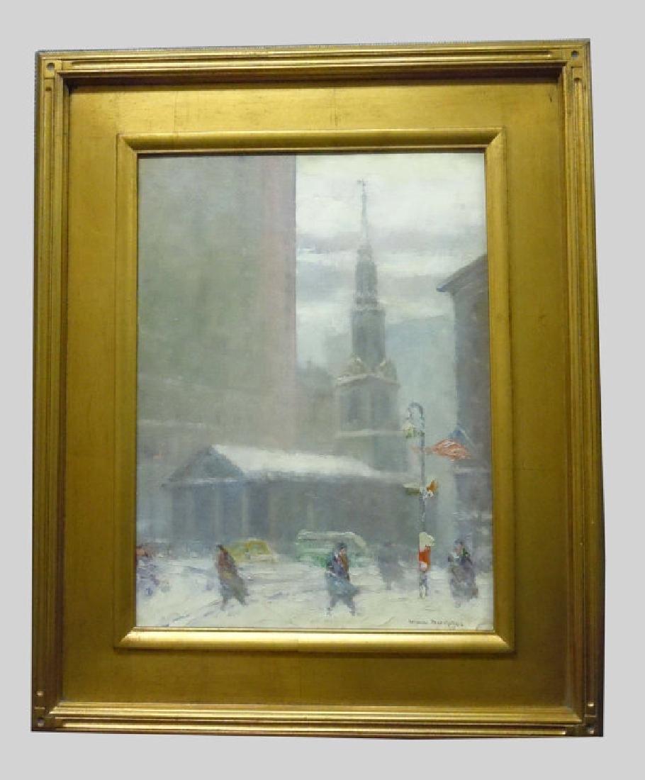 Johann Berthelsen St Paul's Chapel New York City