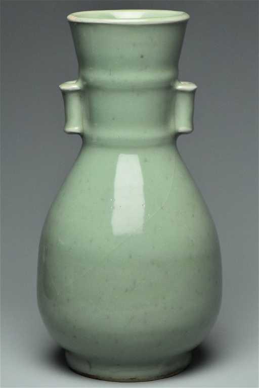 A Song Dynasty Longquan Celadon Vase