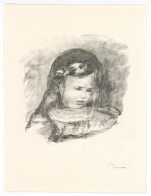 """Pierre-Auguste Renoir """"Claude Renoir, Fils de"""