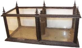 797: American Gothic Revival cast iron terrarium