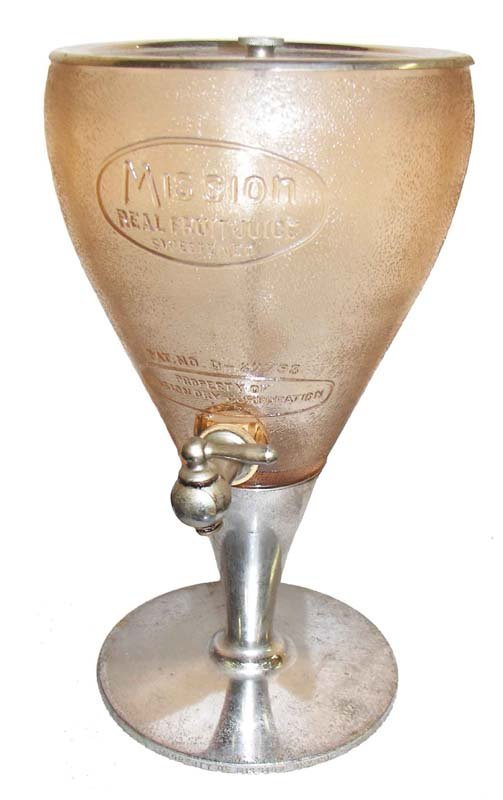 11A: Original Mission Co. soda fountain dispenser