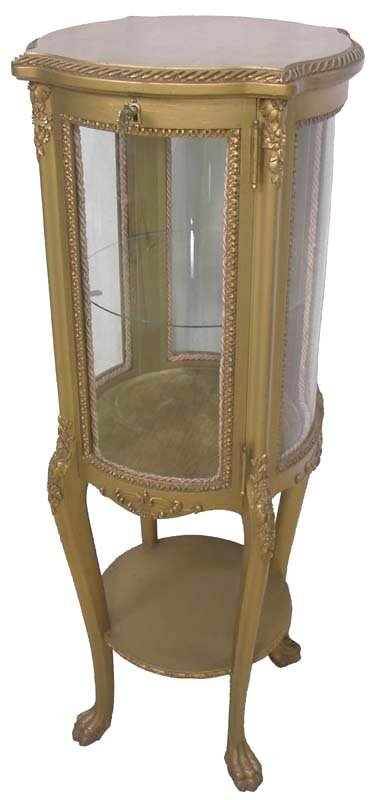 13: 19th American Gilded Age curio cabinet