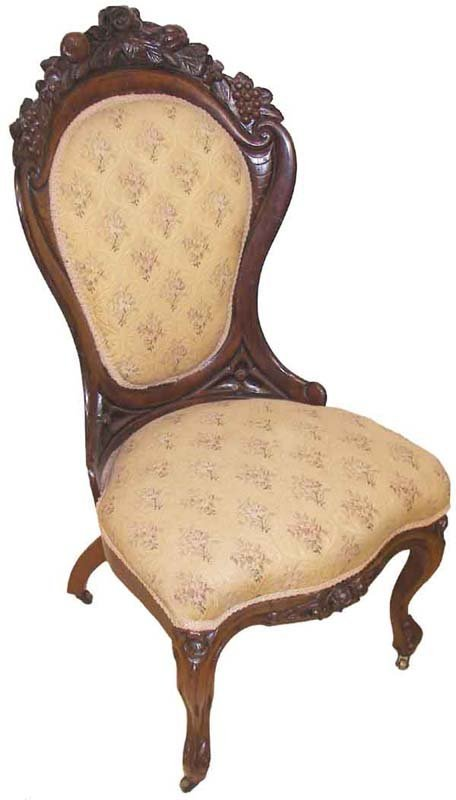 27: Belter Rosalie laminated rosewood side chair