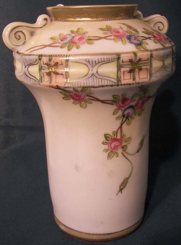 24: Nicely decorated Japanese vase