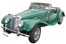 1102: 1954 MG TF convertible w/67,868 original miles