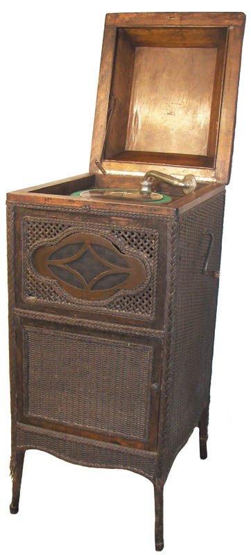 16: Perfektone phonograph attributed to Haywood Wakefie