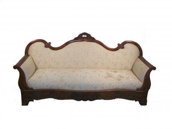 29: Empire mahogany sofa
